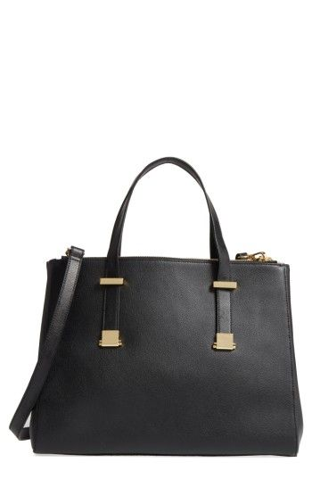 b2d711bf7e054 TED BAKER TED BAKER LONDON LARGE ALUNAA CONVERTIBLE LEATHER TOTE - BLACK.   tedbaker  bags  shoulder bags  hand bags  leather  tote