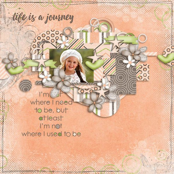 ScrapByMia: Life is a Journey