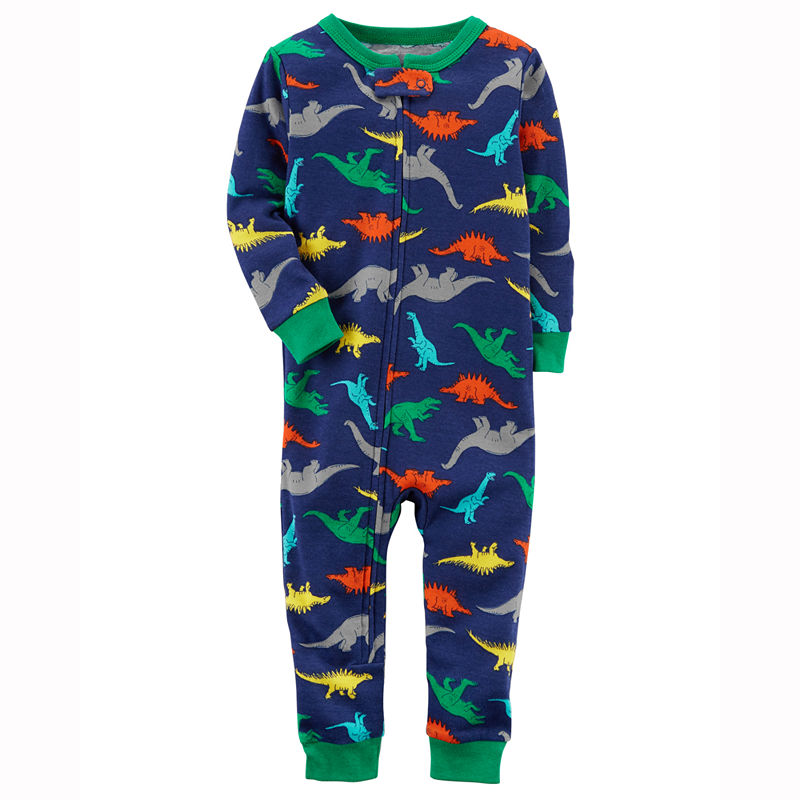 3cfd9bfb054e Carter s Long Sleeve One Piece Pajama-Toddler Boys