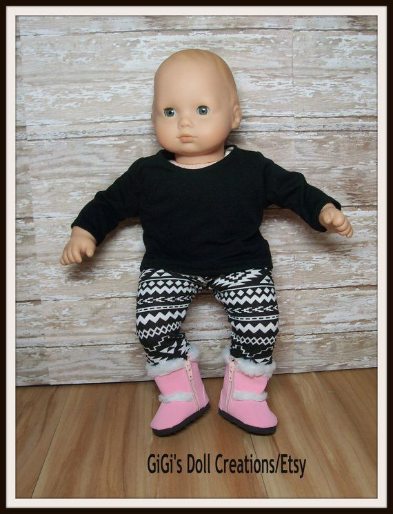Bitty Baby complete outfit leggings boots & by GiGisDollCreations ...