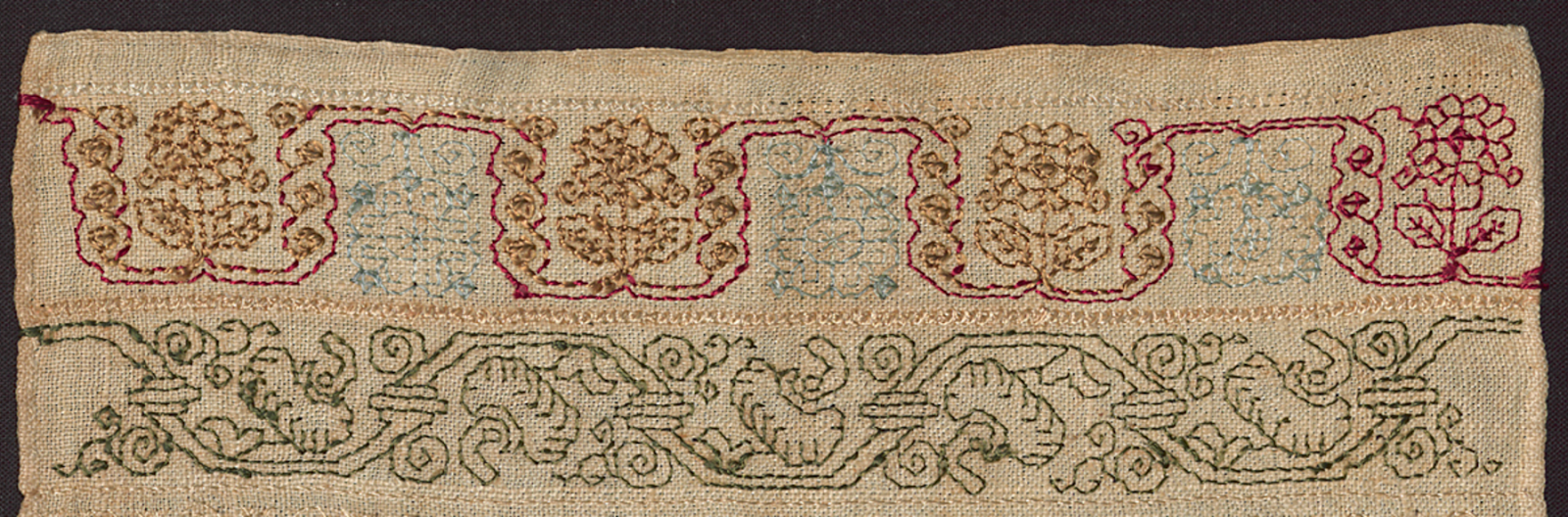 Embroidery history
