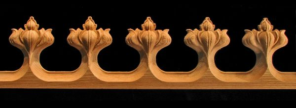 decorative wood carved moulding egg and dart molding | Update My Pad