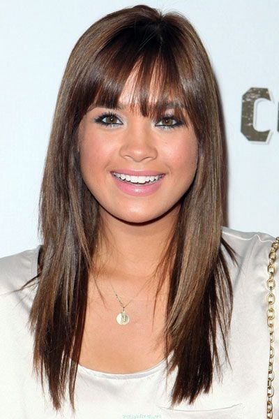 nicole anderson simple long layered