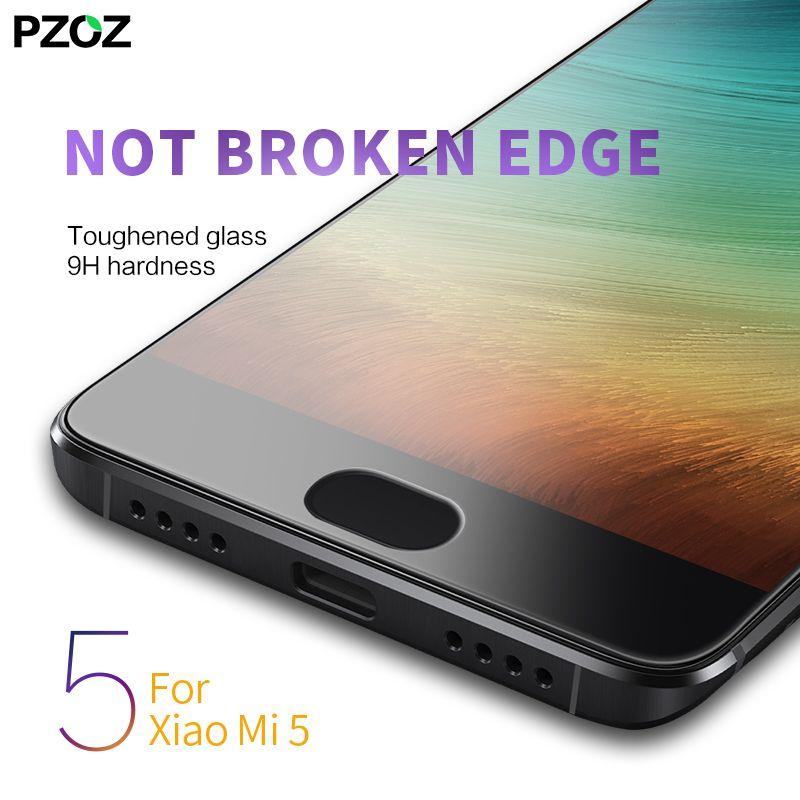best service 3d633 52b02 pzoz xiaomi mi5 glass full prime screen protector Tempered Film ...