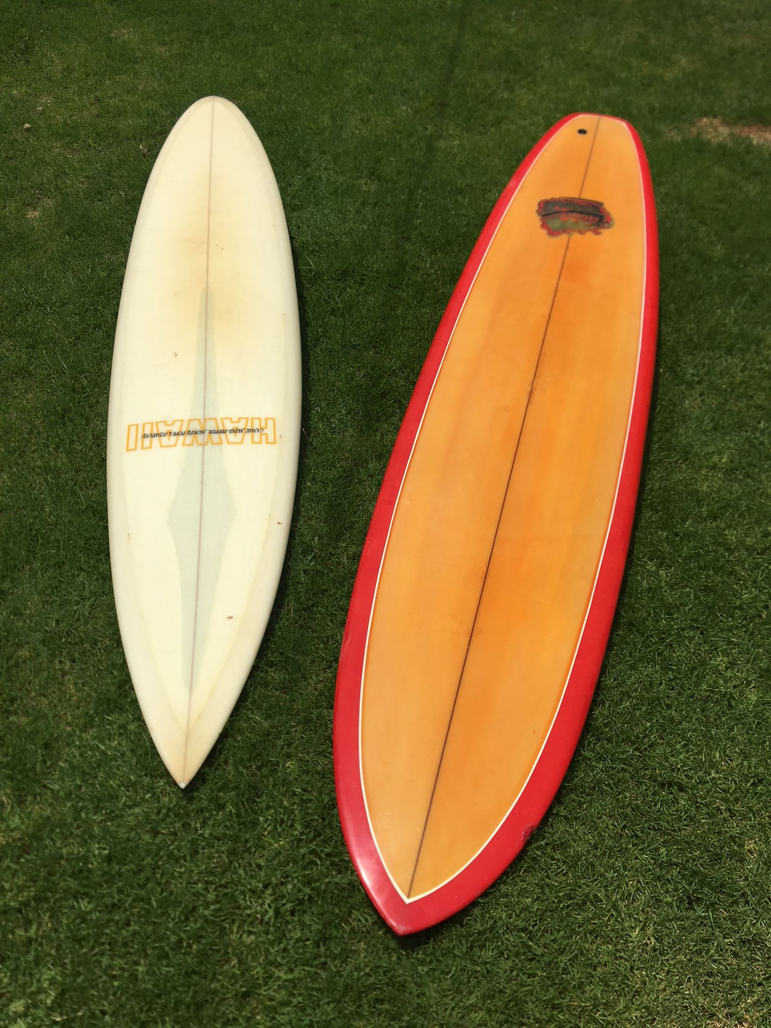 2 Vintage Surfboards From The Late 1960s Surfboards Hawaii 7 8