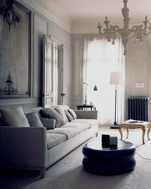 chambre style haussmannien. Black Bedroom Furniture Sets. Home Design Ideas