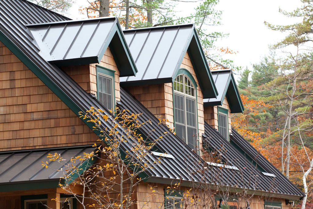 Is Metal Roofing Worth The Cost Harvey Building Products Standing Seam Metal Roof Standing Seam Metal Roof