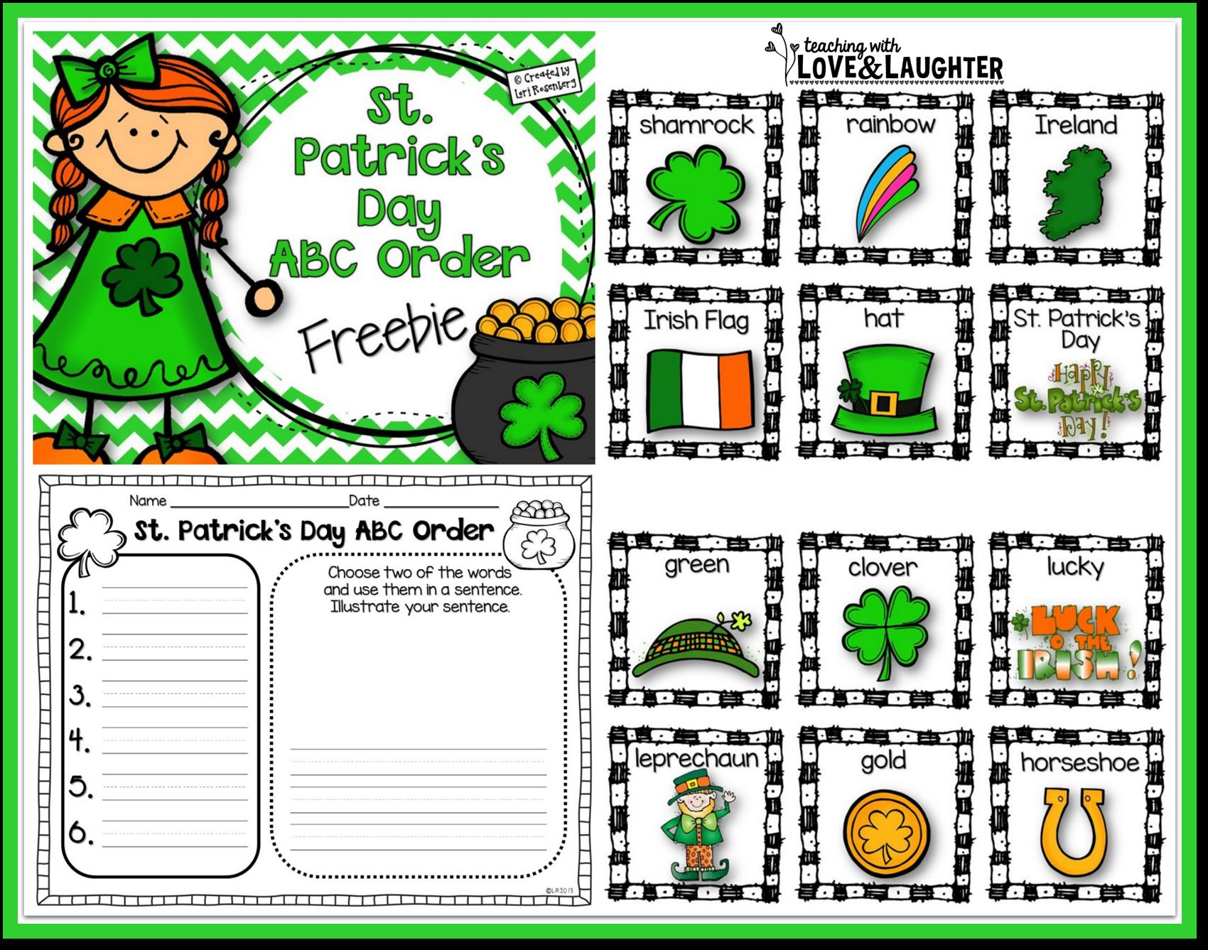 Vistoso Jardín De Infantes Para Colorear Páginas St Patricks Day ...