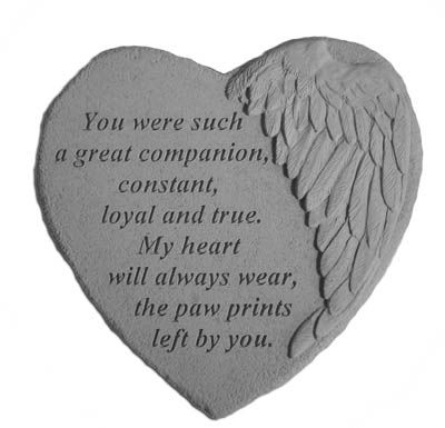 quotes about pet dogs loss of dog or pet pawprints
