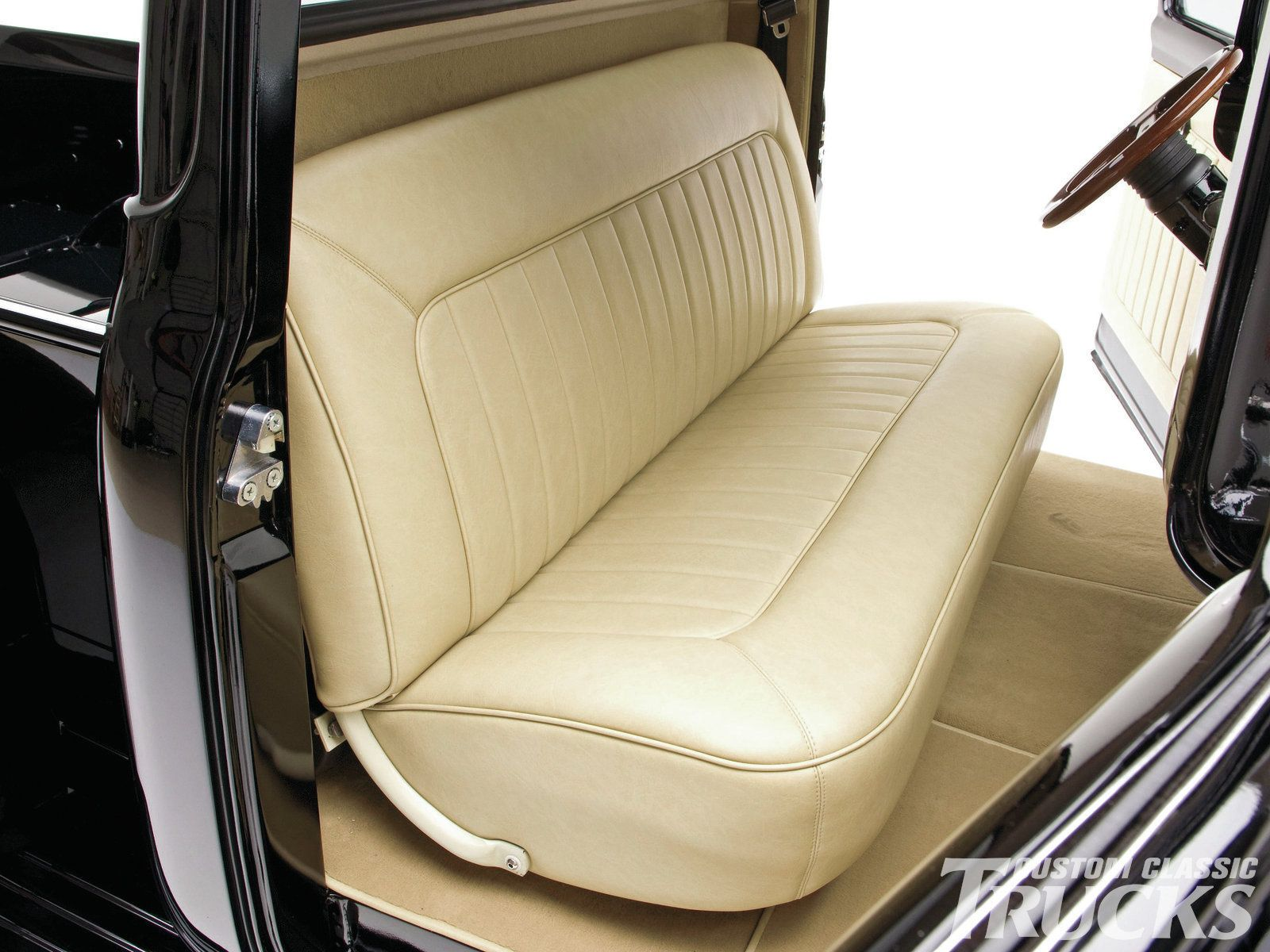 1956 Ford F-100 Truck - Hot Rod Network | Truck interior ...1956 Ford F100 Lifted