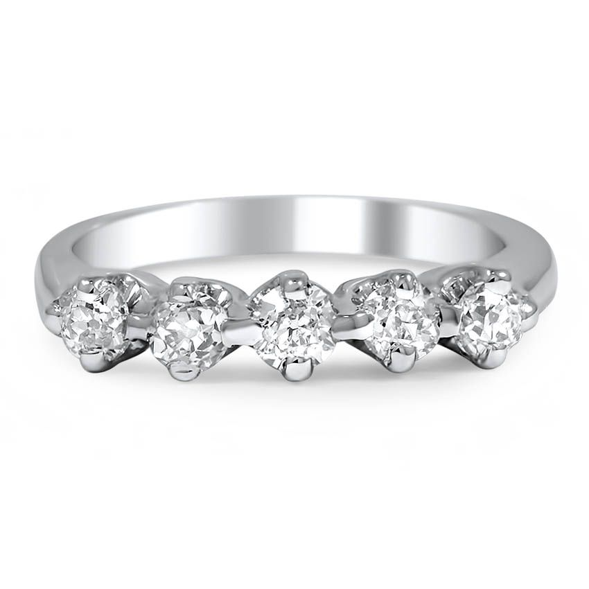 14K White Gold The Demetria Ring from Brilliant Earth