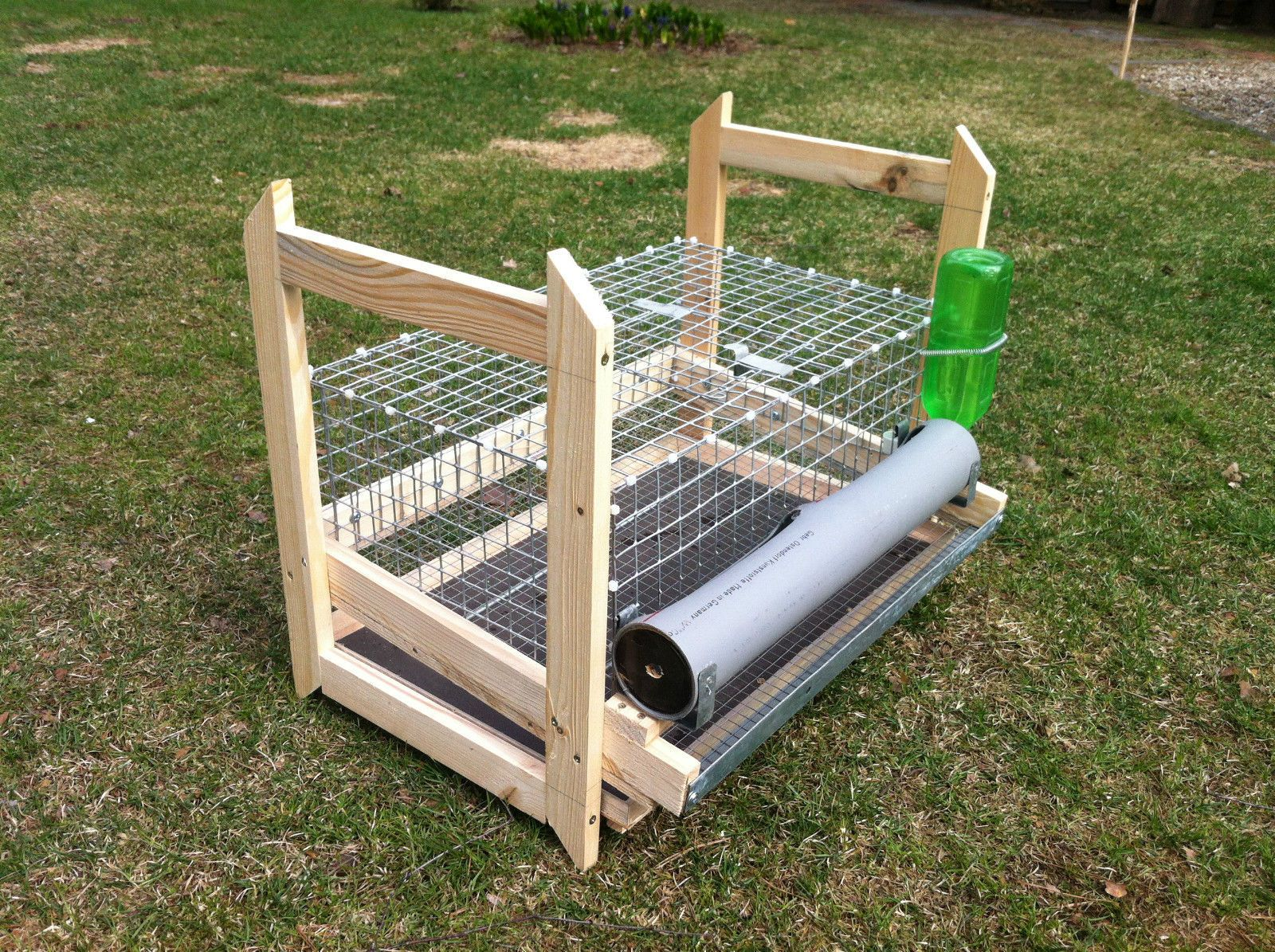 Details about QUAIL CAGE FOR 16 QUAILS WITH FEEDER AND