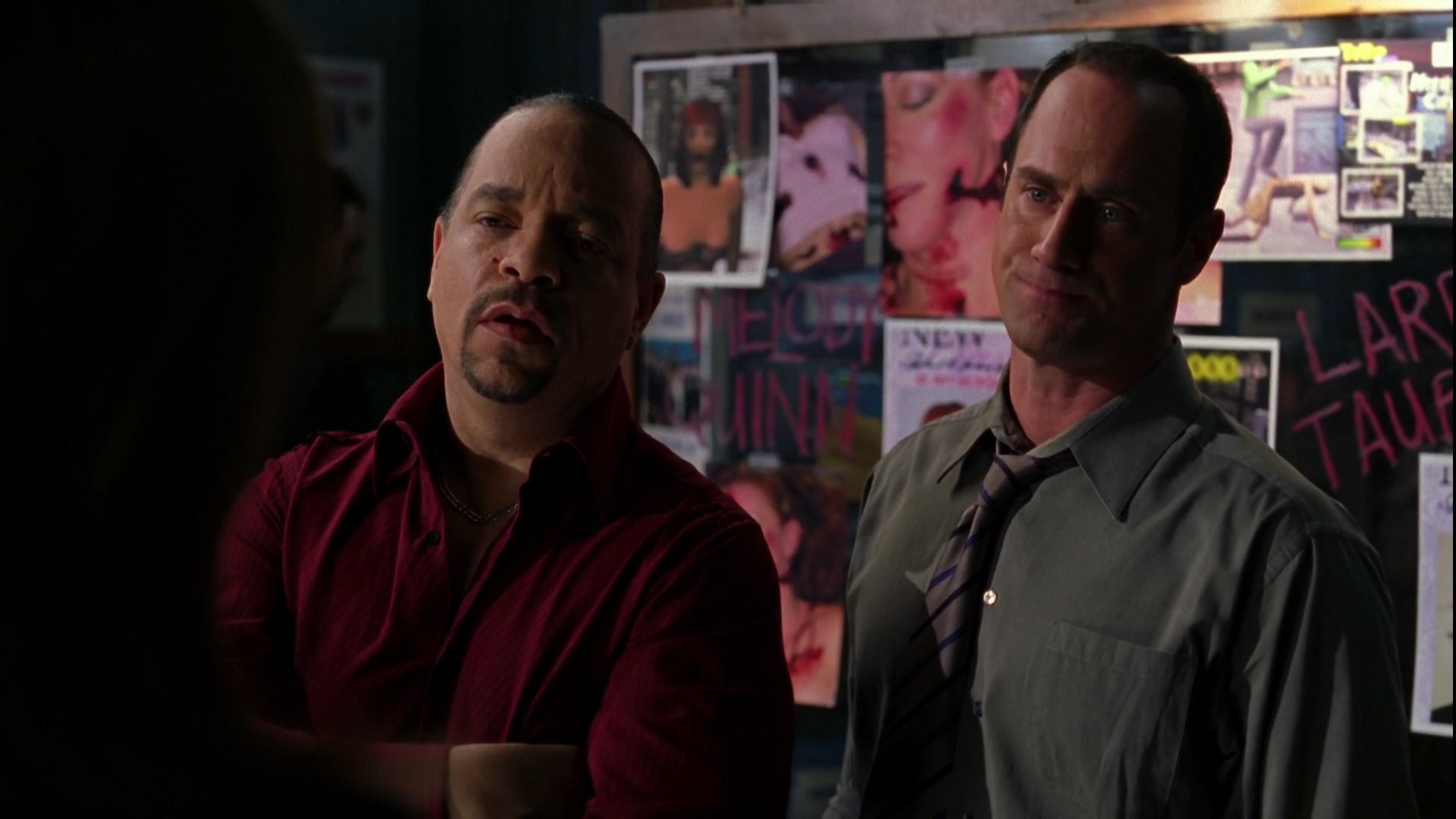 Detectives Odafin Tutuola Elliot Stabler Season Six Special Victims Unit Law And Order Svu Victims
