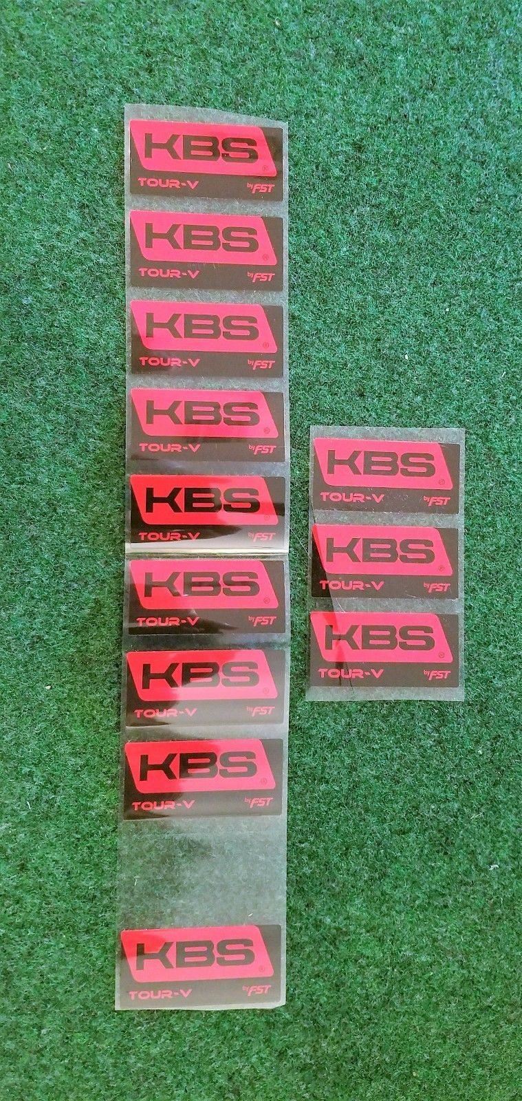 Golf Stickers and Decals 173518  12 Kbs Tour V Shaft Labels Only - gt  24d093891
