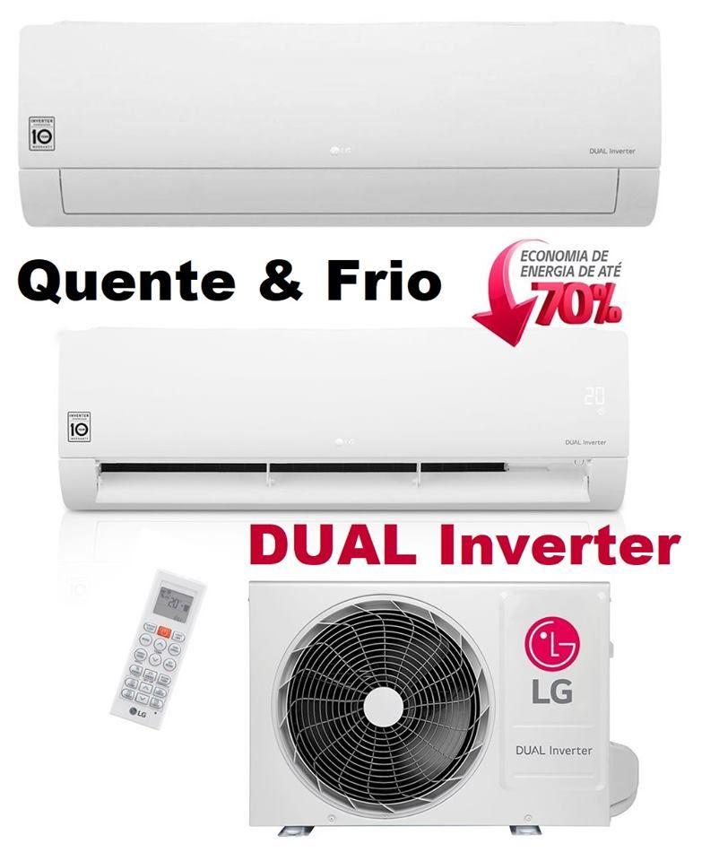 Ar Condicionado Split Hi Wall Lg Dual Inverter 12000 Btus