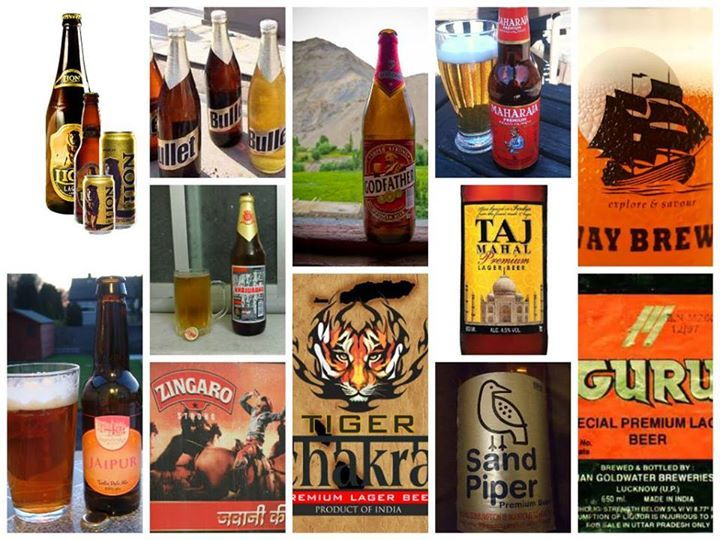 Some major Indian beer brands | Beer of the World in 2019
