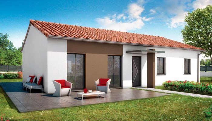 plan maison plain pied Bali projet maison neuve Pinterest - plan maison  plain pied