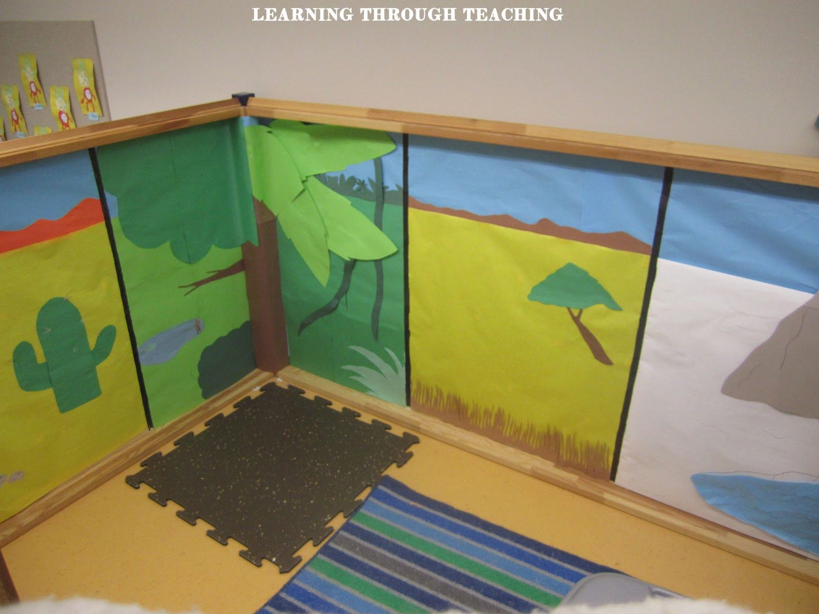 Learning Through Teaching Animal Habitats Dramatic Play