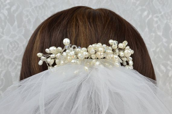 FREE SHIPPING  Wedding Hair Accessories by IDoDeclareWeddings, $47.00