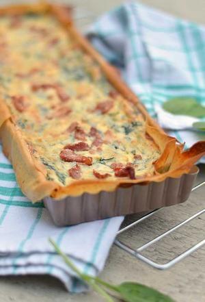 Bekijk de foto van EefKooktZo met als titel Quiche filodeeg met spinazie en ricotta. Een heerlijke, knapperige quiche die bomvol smaak zit en ook nog eens makkelijk is om te maken. Bekijk snel het recept! (Recept via BRON) en andere inspirerende plaatjes op Welke.nl.