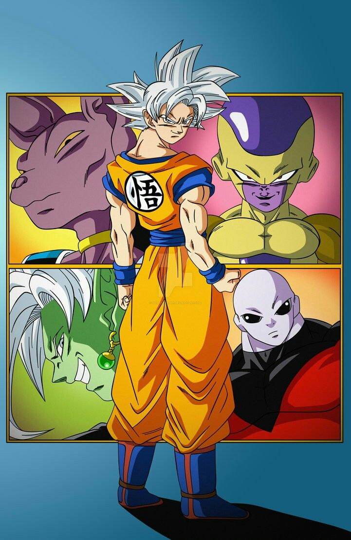 Dragon ball super antagonists of all four arcs dragonball dragon ball dragon ball gt - Super san dragon ball z ...