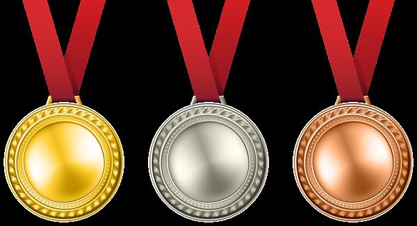 medals set transparent png clip art image rh pinterest com gold medal clipart black and white gold medal clipart png