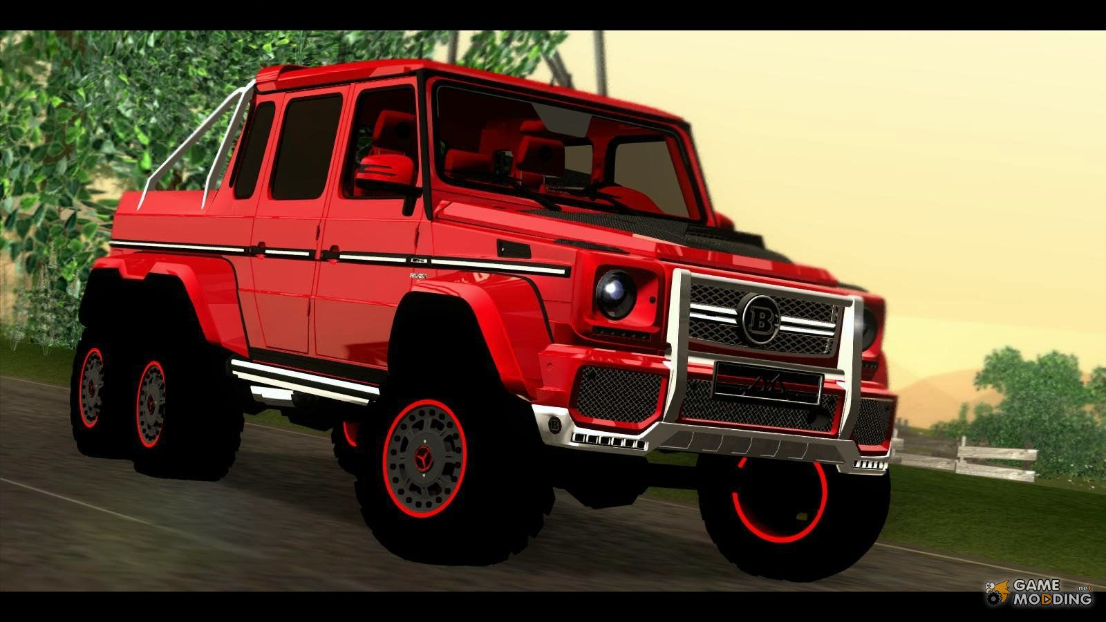 Brabus 700 mercedes benz g63 amg 6x6 gta san andreas for Camioneta mercedes benz