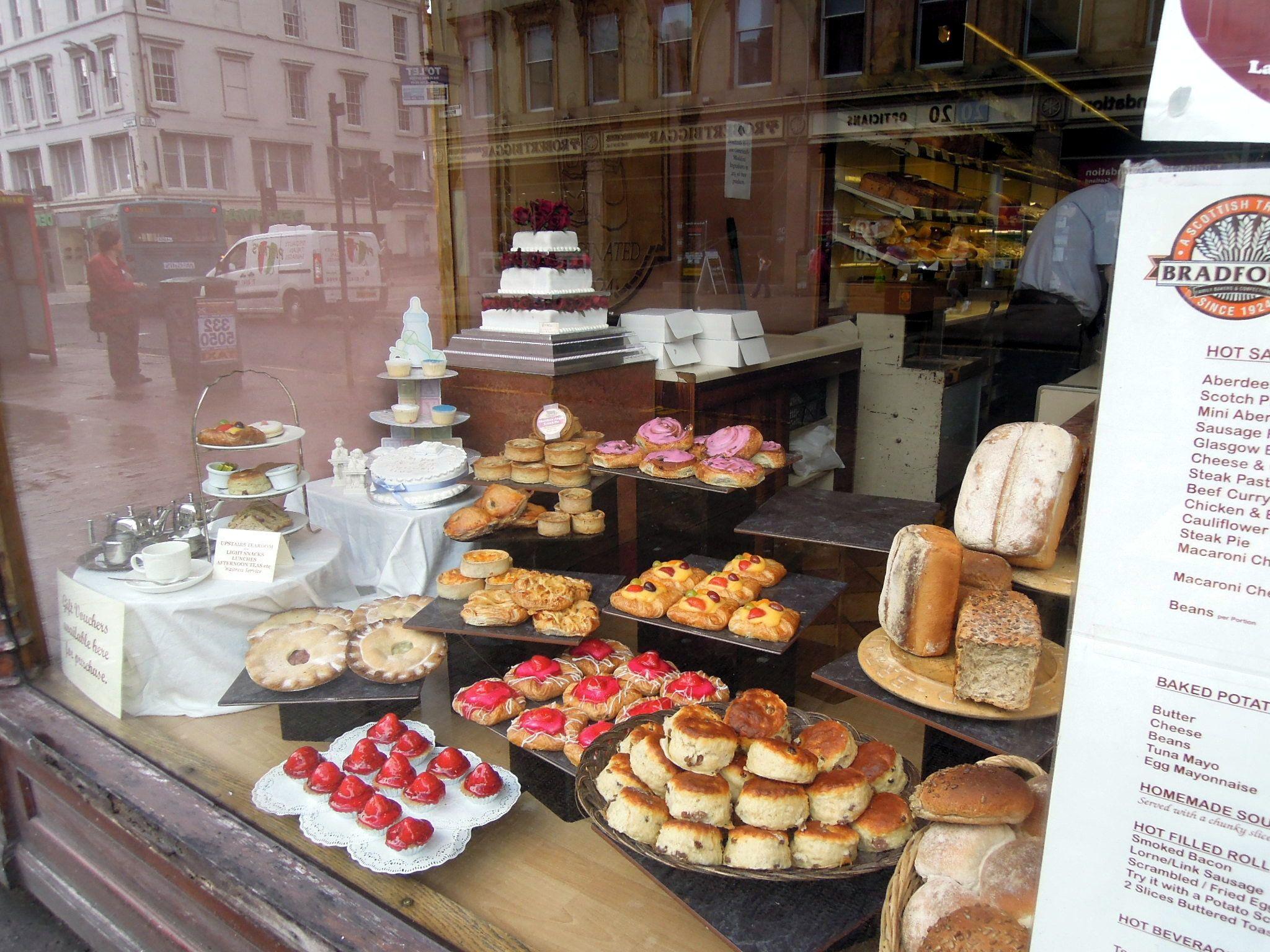 Bakery Window Display  Google Search