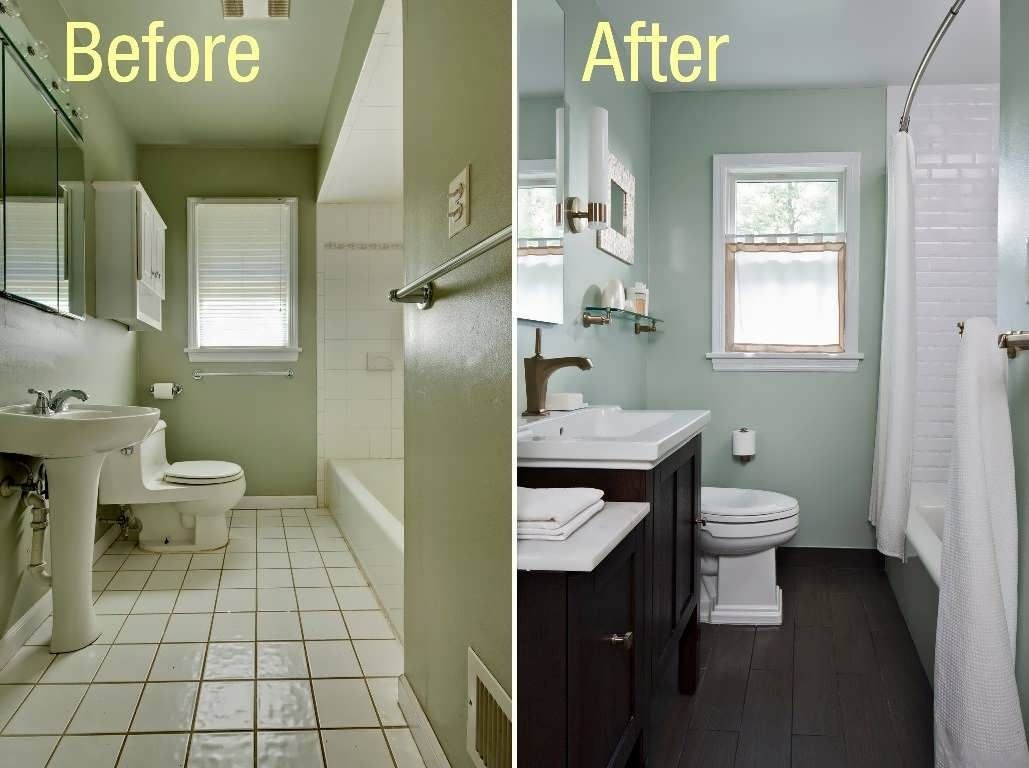 13 suggestions what color to paint a small bathroom with