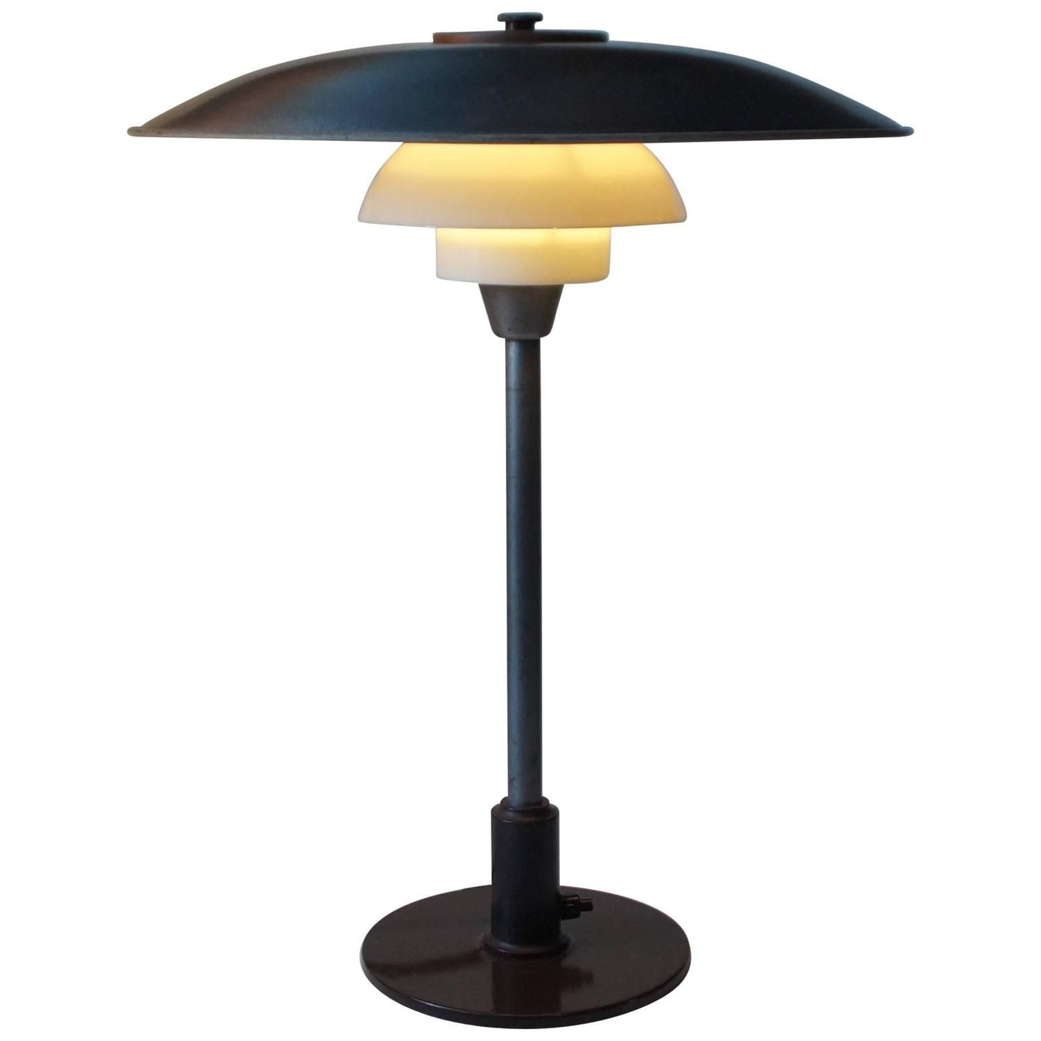 Rare 1940s Ph 3 5 2 5 Table Lamp By Poul Henningsen For Louis Poulsen Denmark Table Lamp Lamp Poul Henningsen