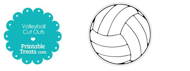 photo regarding Volleyball Printable called no cost-printable-volleyball-slash-outs Craft Guidelines
