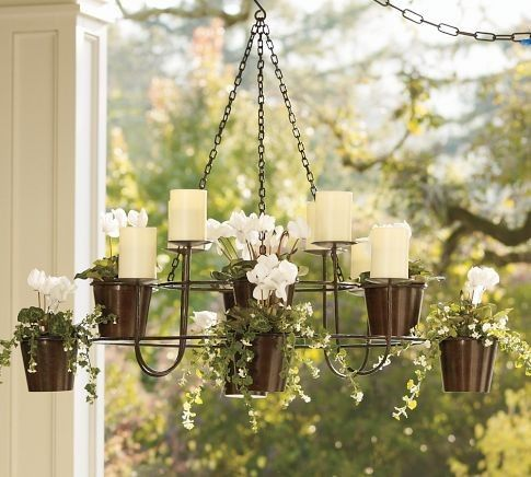 Plants Pots And Indoor Fountains Candle Plant Chandelier Planter Planter Pots Indoor