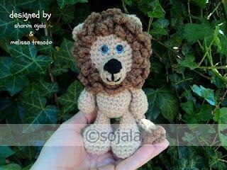 Lion Crochet Pattern Amigurumi : Little bigfoot lion free crochet pattern amigurumi to go