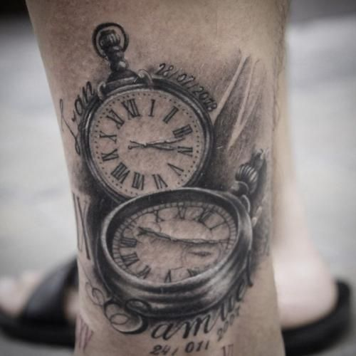 Pocket Watch Tattoo Pocket Watch Tattoos Watch Tattoos Clock Tattoo