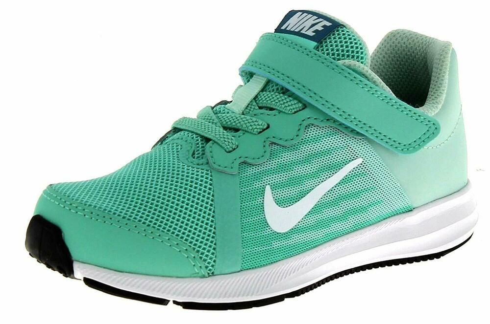 the latest c5099 cd263 eBay  Sponsored Nike Big Kids Emerald Rise White Aqua Downshifter 8 (PSV)  Size 3 Medium