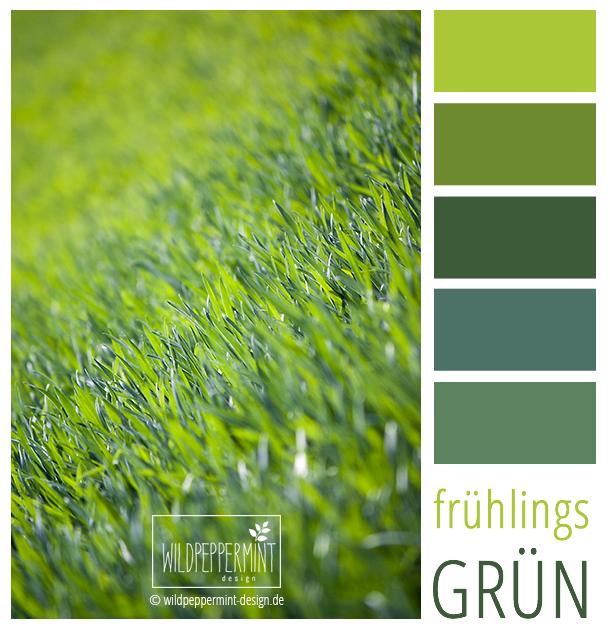 Farbpalette, Frisch Grüne Farbinspiration, #Frühling #Grün