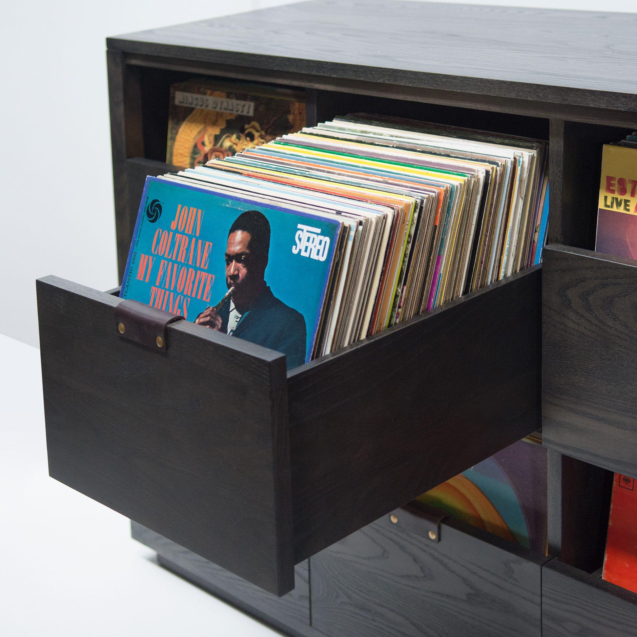 Dovetail Vinyl Storage Cabinet Vinyl Record Cabinet Symbol