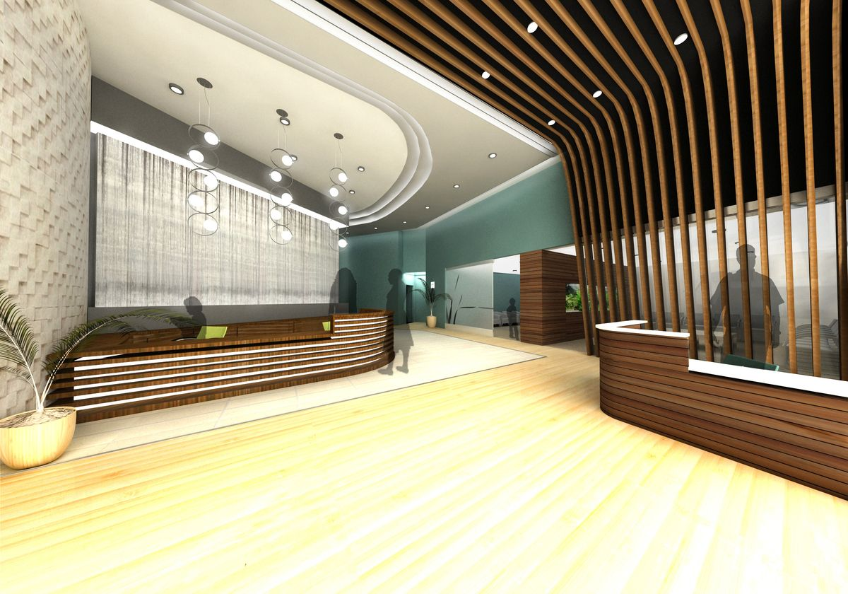 Brilliant Business Office Building Lobby Decorating Ideas