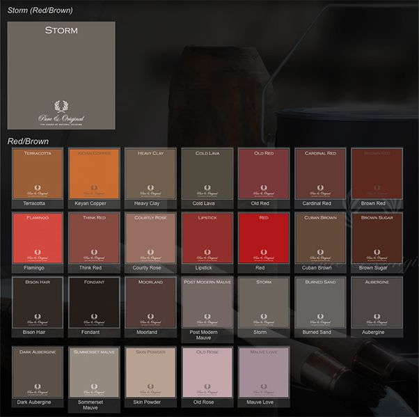Pure En Original Kleuren Pure & Original Paint Colors – Storm | Colorways With
