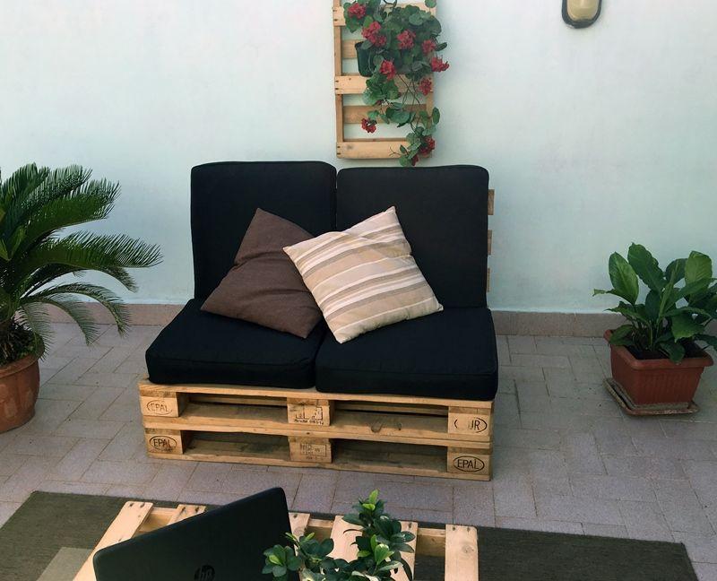 #divano #pallet - #interior #design
