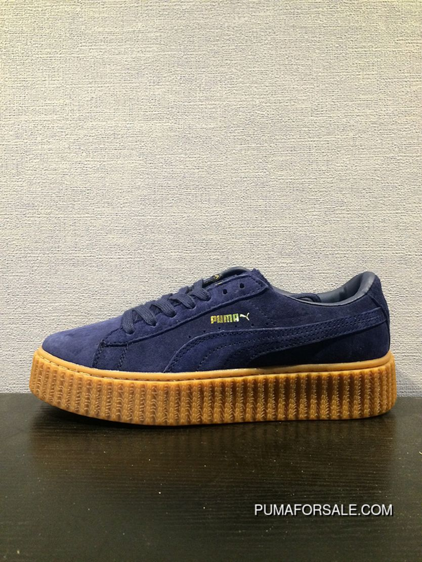 sports shoes 4f3bd 83e7b Find Puma X Rihanna Creepes Suede Navy Women And Men Best online or in  Pumafenty. Shop Top Brands and the latest styles Puma X Rihanna Creepes  Suede Navy ...