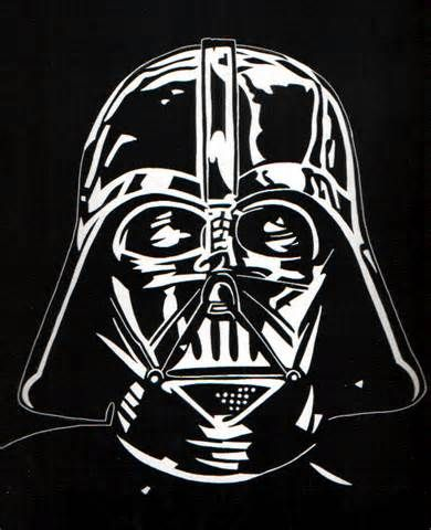Darth vader darth vader pinterest - Pochoir star wars ...