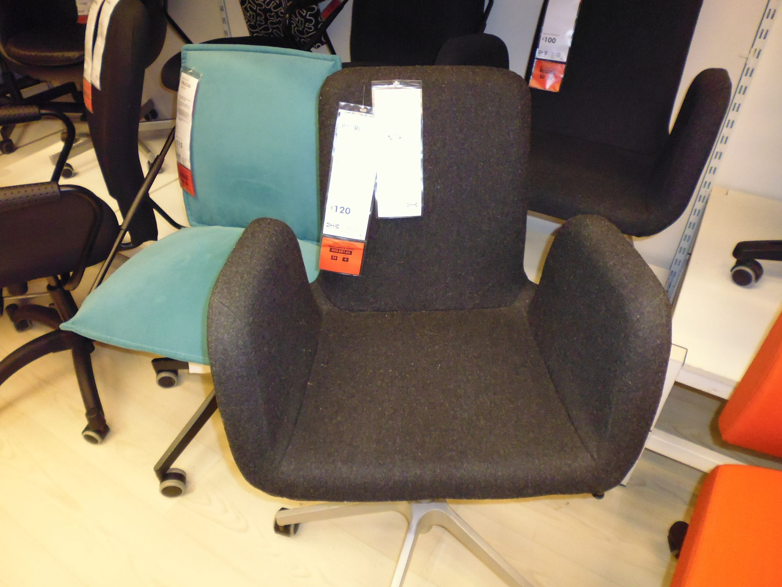 Ikea Patrik Swivel Chair Not Just For The Office