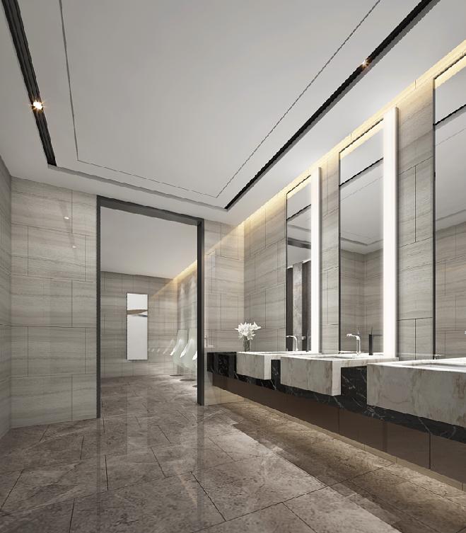 Hotel Bathroom Layout: Forró Com Rasgos Iluminados