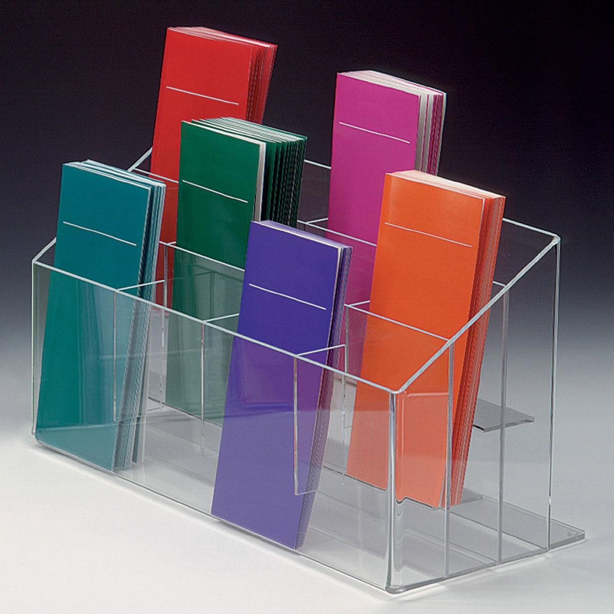 Workshop Series 12 Pocket Acrylic Brochure Holder 4 W Tabletop Clear In 2020 Brochure Holders Brochure Display Brochure Stand