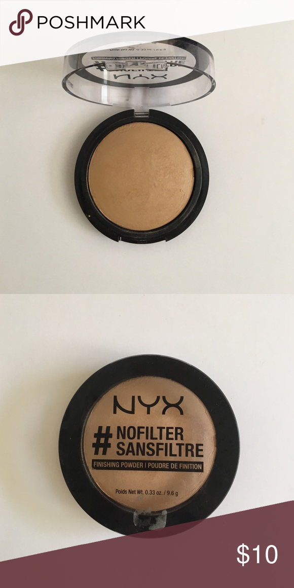 NYX #NOFILTER Finishing Powder in Beige This finishing powder is ...