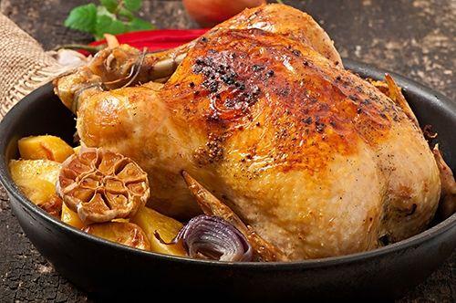 pollo entero al horno te enseamos a cocinar recetas fciles cmo la receta de pollo entero