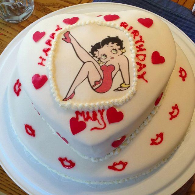Mom Made A Betty Boop Cake Happy Birthday Mary Cake Baking