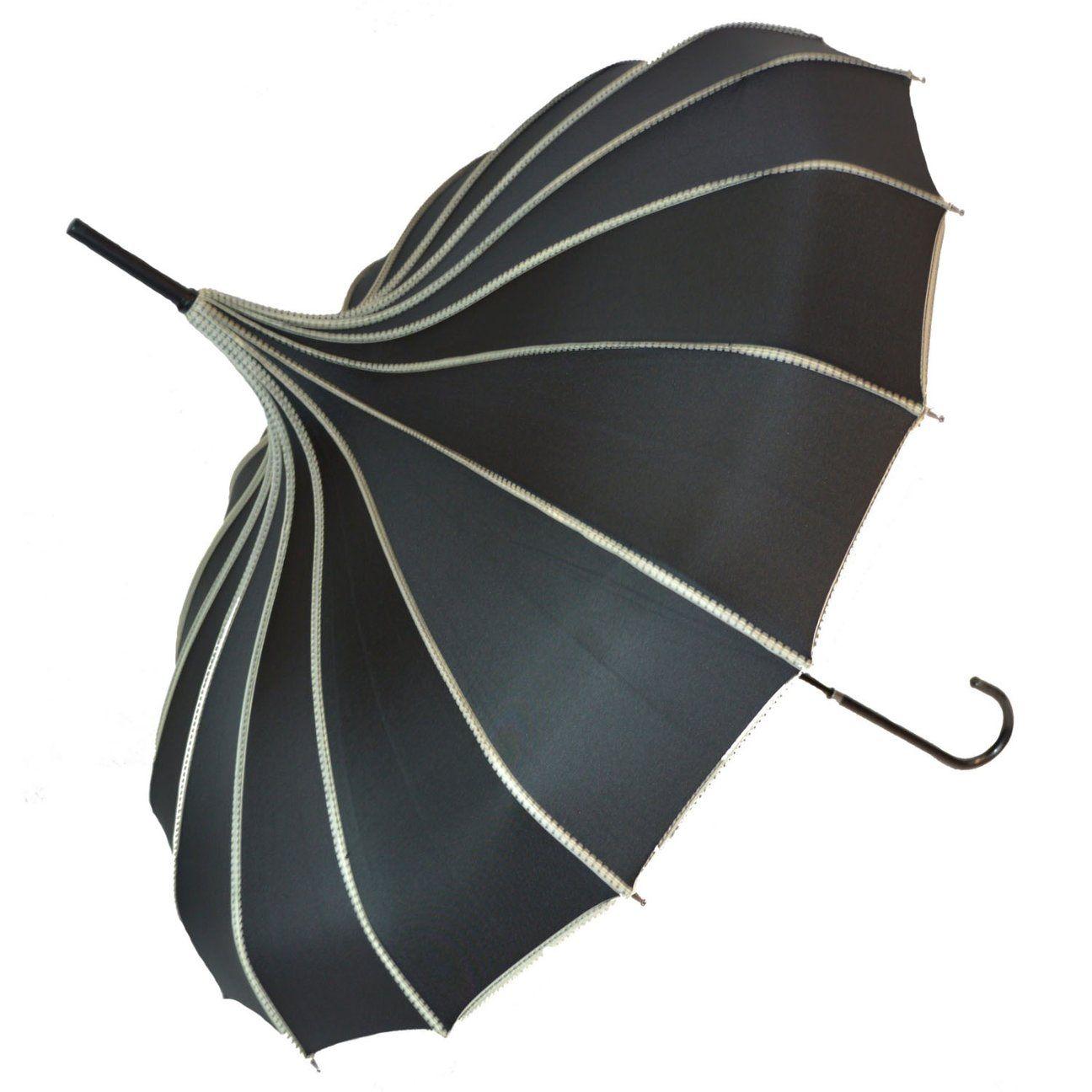 black lace parasol steam punk victorian umbrella umberella