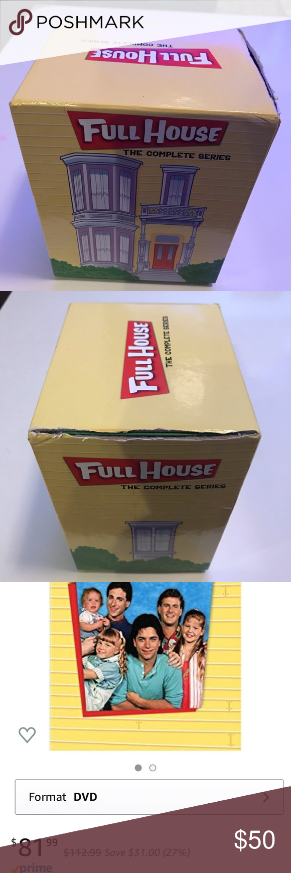 Full Housecomplete Series Collection Collection Box Full House Complete Series Full House